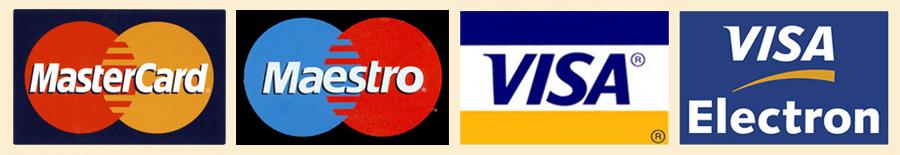 Mastercard,visa