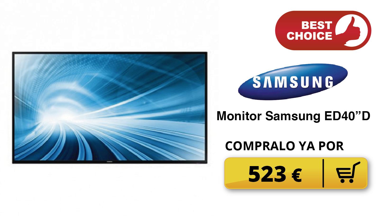 Monitor Samsung ED40D